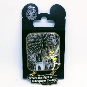 Tinker Bell Fireworks and Castle Pin