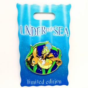 Under The Sea Jiminy Cricket Pin