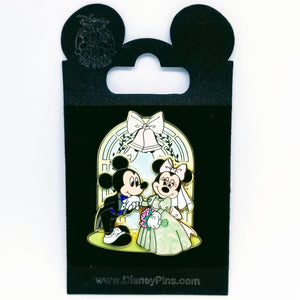 Wedding Chapel Mickey and Minnie Pin