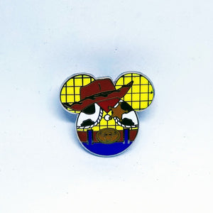 Woody - Mickey Icon Pin
