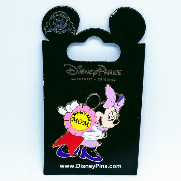 World's Best Mom Minnie Pin