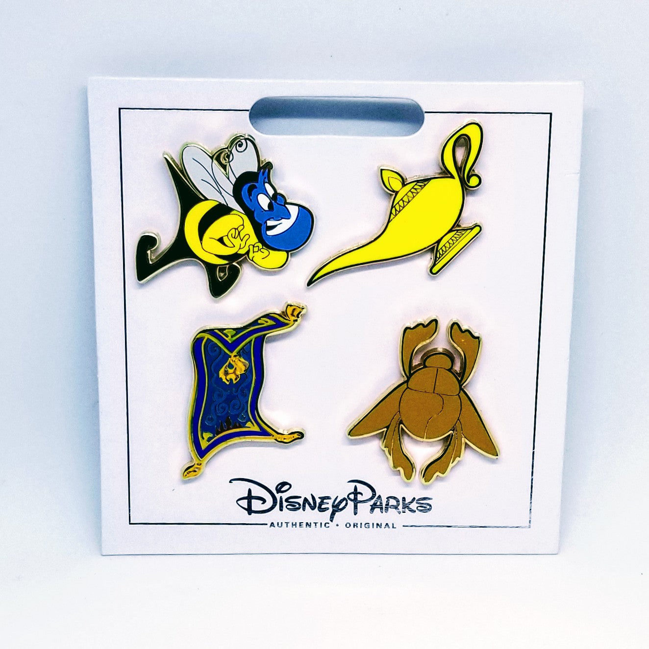 disney aladdin 4 pin set