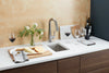 Morgan Tap and Basin Bar Sink with Wine and Cheese