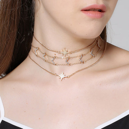 Olivia - Metal Punk Necklace