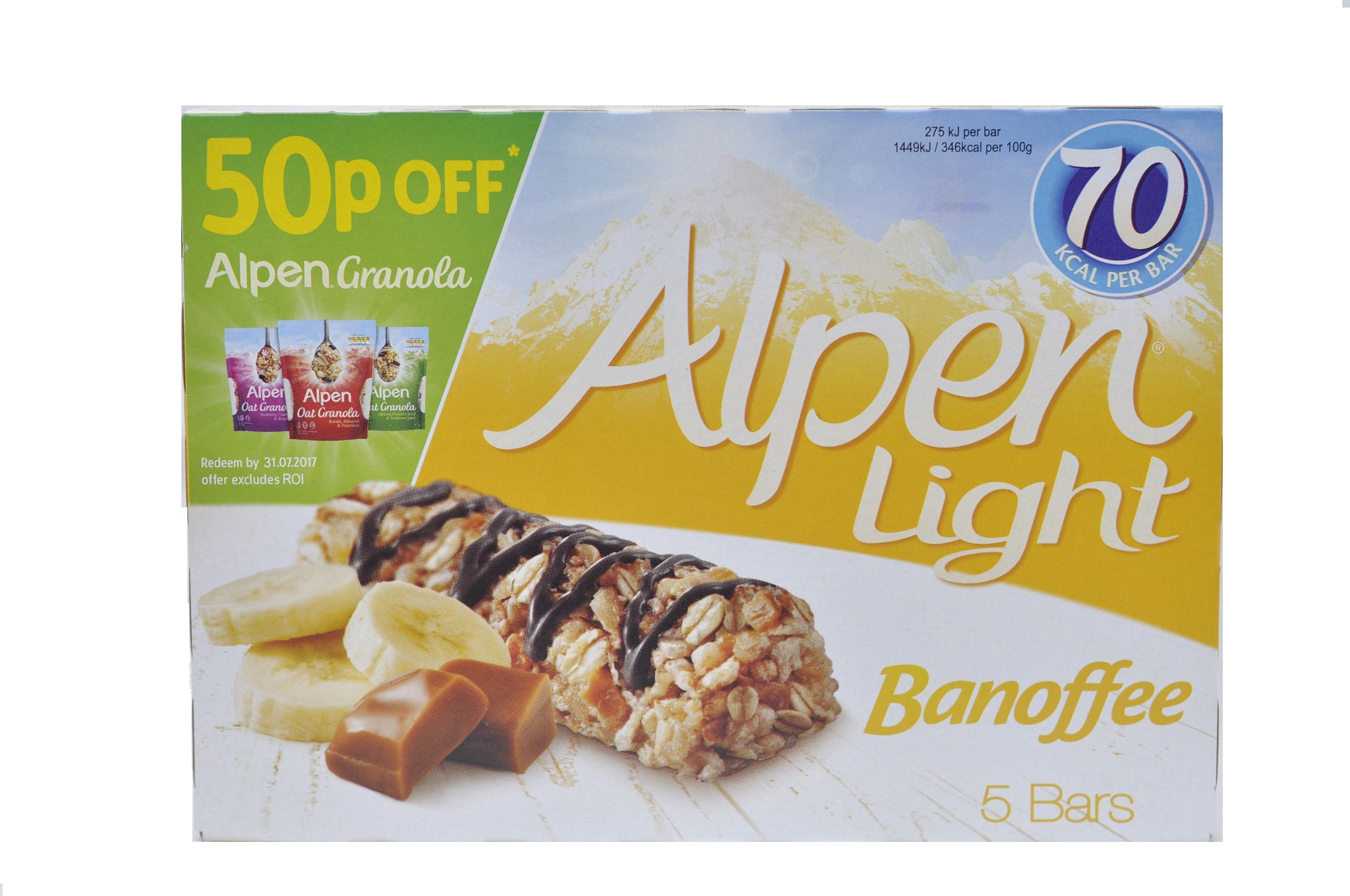 Alpen light banoffee bars snackschaos alpen light banoffee bars aloadofball