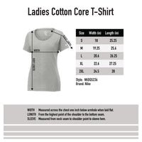 Nike Core Cotton Tee Ladies- Black