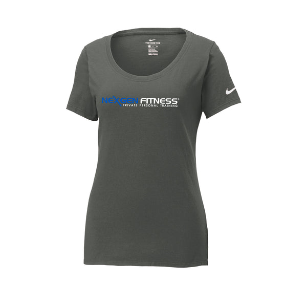 Nike Core Cotton Tee Ladies - Anthracite
