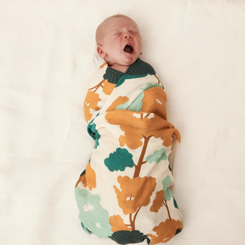 Gum Trees Muslin Swaddle - HeyMoon