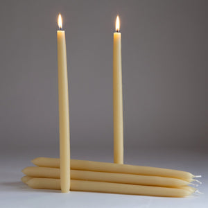 Beeswax Dinner Candles - HeyMoon