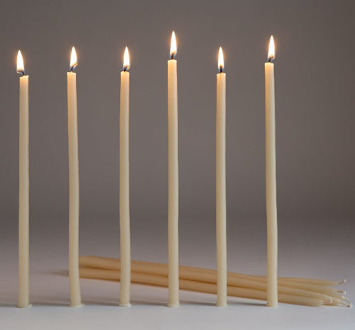 Beeswax Taper Candles - HeyMoon