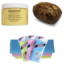 Load image into Gallery viewer, 12 OZ MY EVERYTHING CREAM BUNDLE - SHEA NILOTICA - NILOTICA SHEA BUTTER