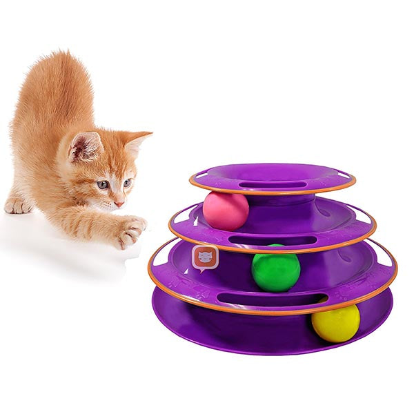 Three Levels Cat Toy