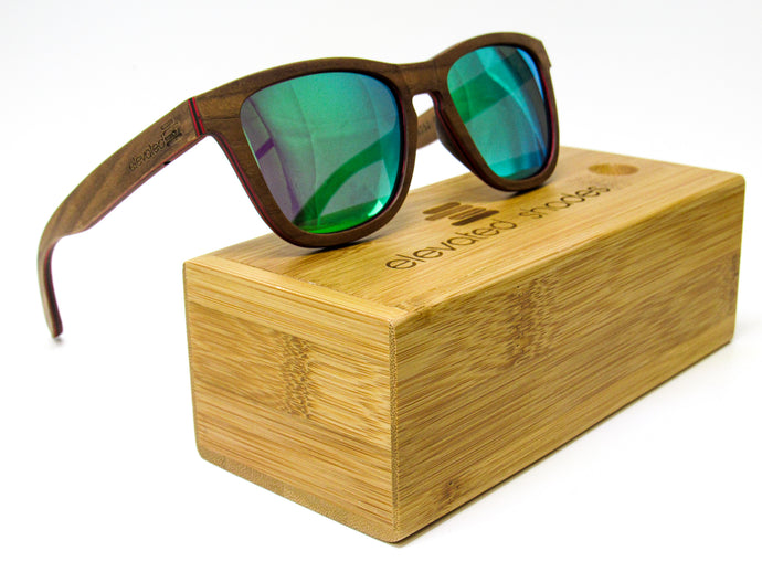 Elevated Shades - Pier Pressure - Polarized Green Lenses