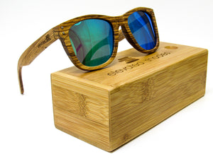 Elevated Shades - Lost Surfer - Polarized Green Lenses