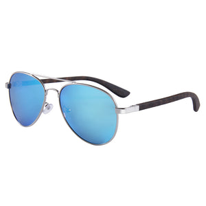 Elevated Shades - Blue Aviators - Polarized Blue Lenses