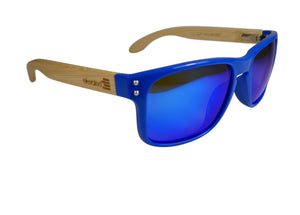 Elevated Shades - Blue Steel - Polarized Blue Lenses
