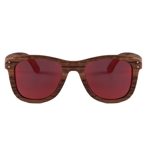 Elevated Shades - Lost Surfer - Polarized Red Lenses