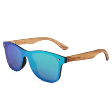 Elevated Shades - Rave -  Zebra Wood / Polarized