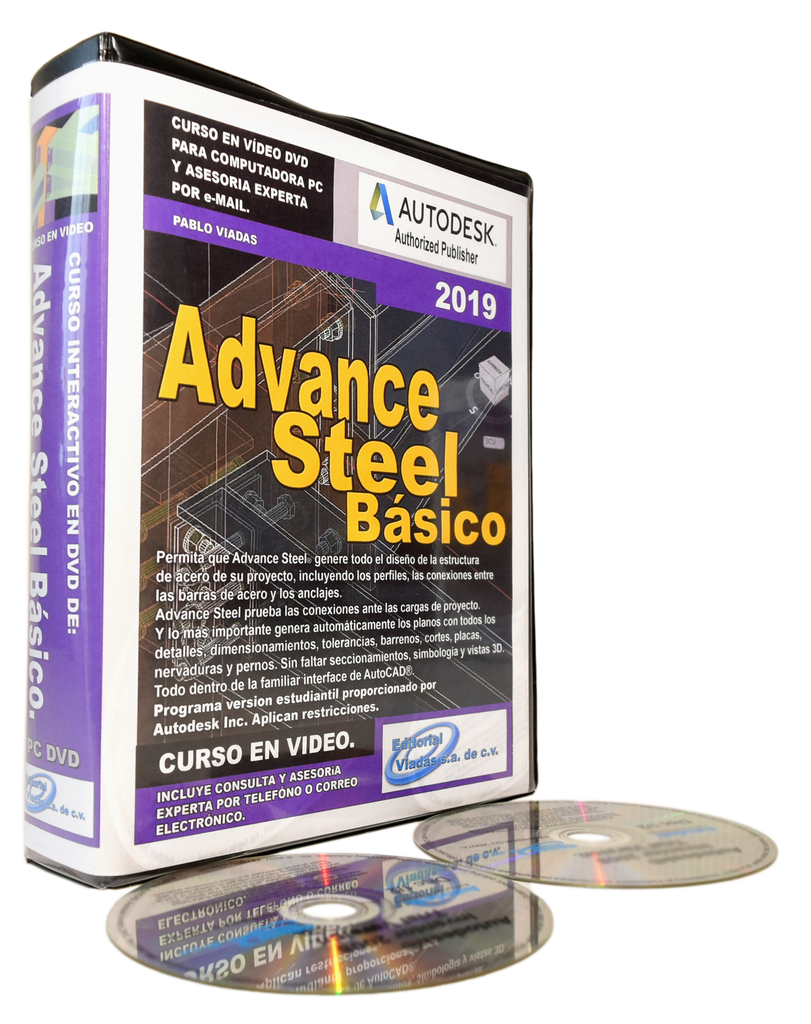 Autodesk Advance Steel 2019 Curso Esencial