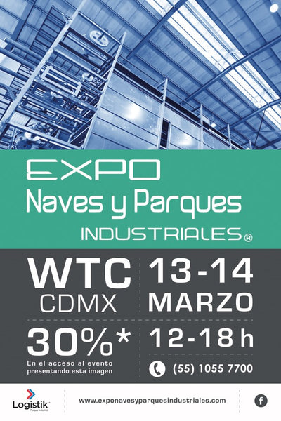 Expo Naves y Parques Industriales CDMX 2018