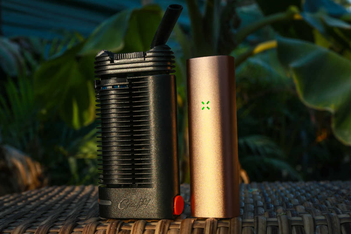 Comparison of different portable vaporizers