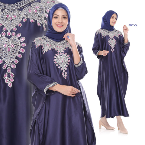 Fira Sequined Velvet Muslim Dresses