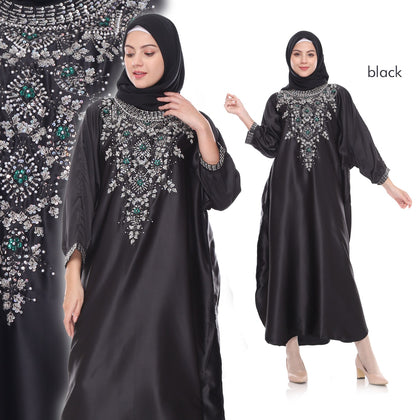 Tira Sequined Velvet Muslim Dresses