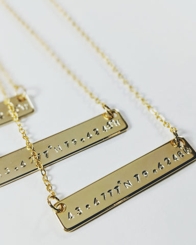 Custom Bar Necklace