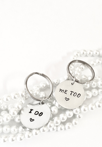 I Do • Me Too Key Chain Set