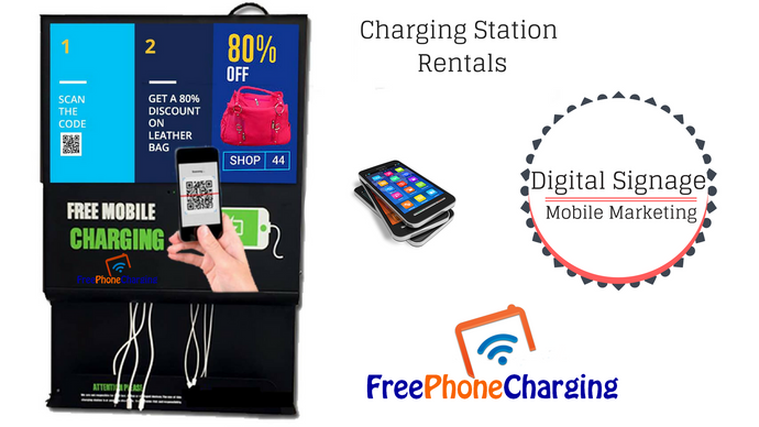 Cell  Phone Charging Station Rentals