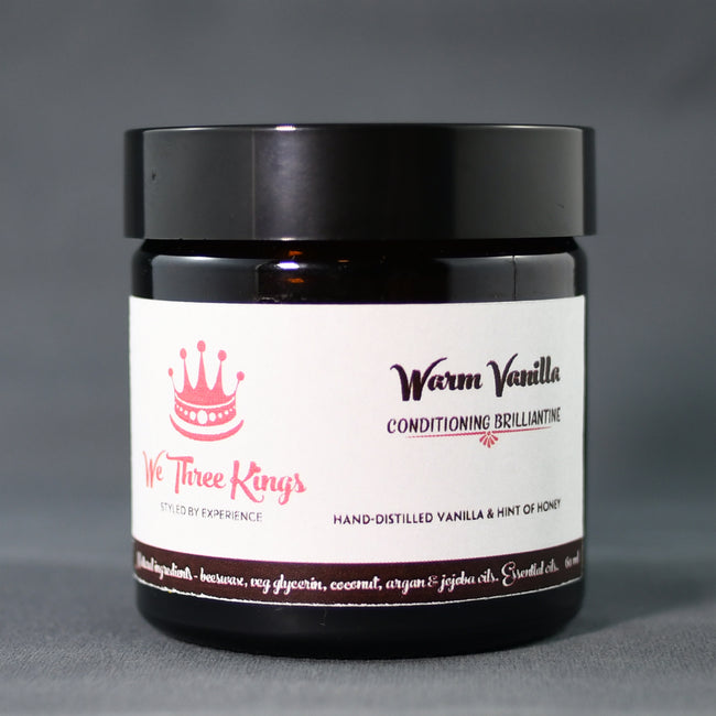 Warm Vanilla natural light hold brilliantine