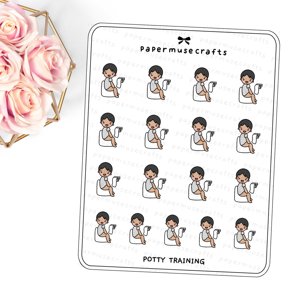 Children | Character Stickers | Potty Training