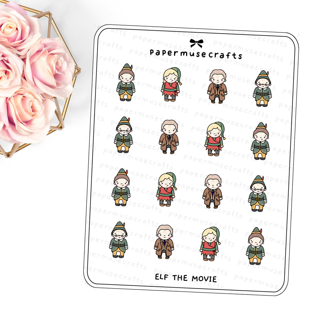 Doodle Stickers | Elf the Movie
