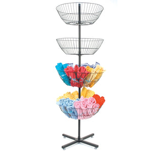 Spinning Baskets Rack