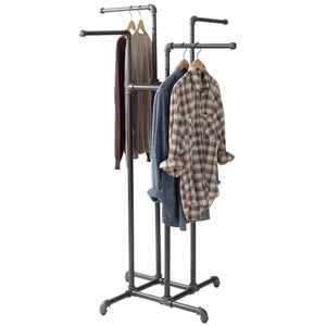 Four Way Clothing Rack