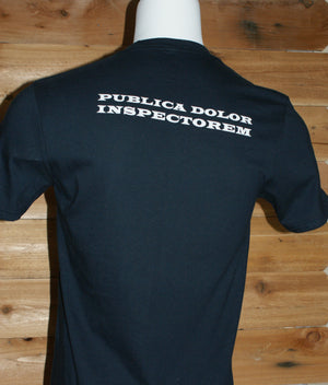 """PUBLICA DOLOR INSPECTOREM"" Men's Premium Short Sleeve Shirt"