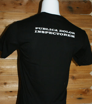 """PUBLICA DOLOR INSPECTOREM"" Women's Premium Short Sleeve Shirt-Holiday Gift"