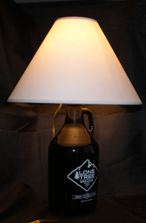 Hall of Fame Growler Table Lamp Kit