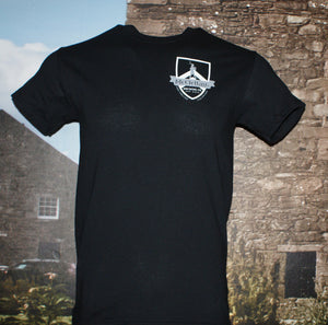 McClellan's Black Shirt with Shield Logo