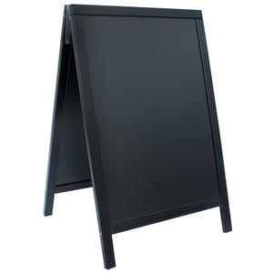 A Frame Pavement Chalk Board