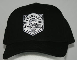 Colorado Craft Beer HOF Black Ball Cap