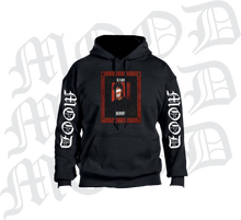BLACK MOOD HOODIE LIMITED (MOOD ON SLEEVES)