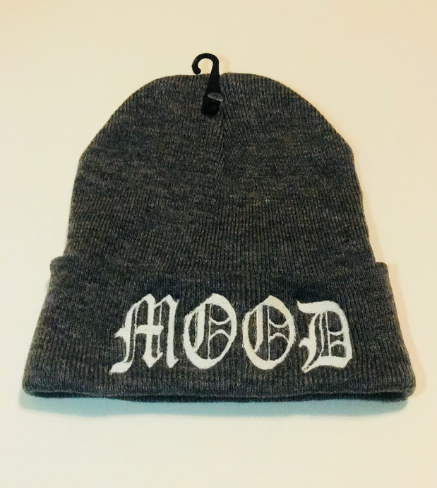 DARK GREY {MOOD} CUFFED BEANIE