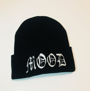 BLACK {MOOD} CUFFED BEANIES