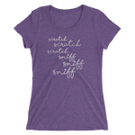 Scratch Scratch Scratch - Ladies' Short Sleeve T-Shirt