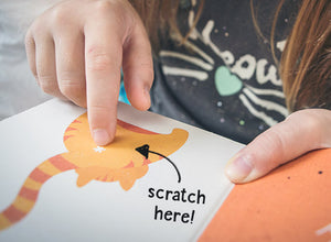 Cat Butt Scratch & Sniff Board Book