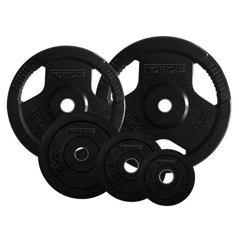 Rubber Coated 29mm Standard Weight Plates