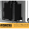 Force USA 60kg/132lbs Weight Stack Upgrade Kit