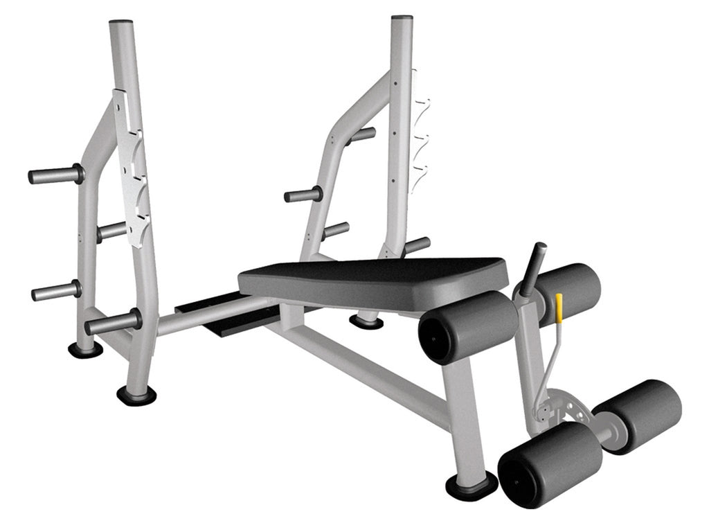 Liberty Fitness Patriot Series Commercial Olympic Decline Bench