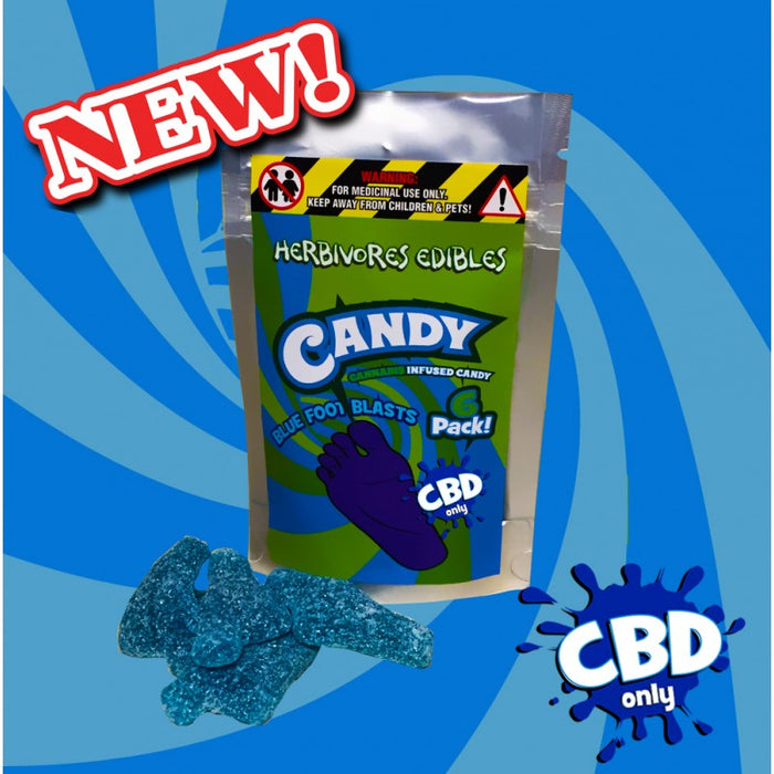 Herbivores CBD Blue Feet - 150mg CBD